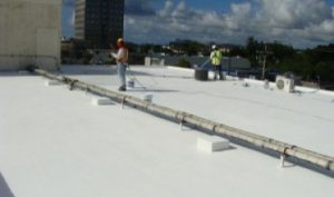 Roof surface